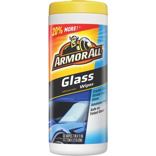 Armor All Glass Wipes (30-Count)